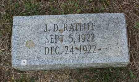 RATLIFF, J. D. - Lawrence County, Arkansas | J. D. RATLIFF - Arkansas Gravestone Photos