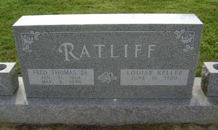 RATLIFF, SR  (VETERAN WWII), FRED THOMAS - Lawrence County, Arkansas | FRED THOMAS RATLIFF, SR  (VETERAN WWII) - Arkansas Gravestone Photos