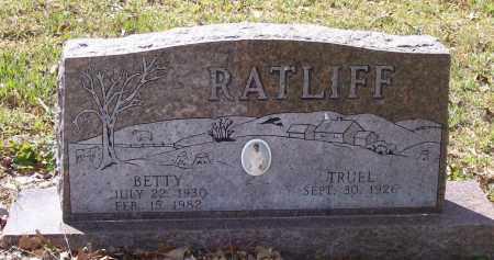 "TRIMMER RATLIFF, MILDRED ELIZABETH ""BETTY"" - Lawrence County, Arkansas | MILDRED ELIZABETH ""BETTY"" TRIMMER RATLIFF - Arkansas Gravestone Photos"