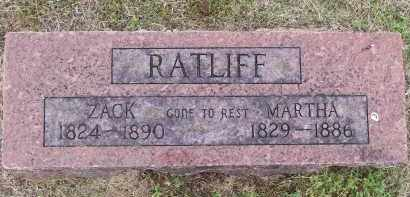 "RATLIFF, ZACHEOUS ""ZACK"" - Lawrence County, Arkansas | ZACHEOUS ""ZACK"" RATLIFF - Arkansas Gravestone Photos"
