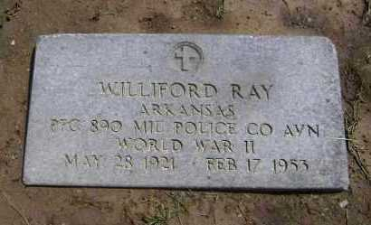 RAY  (VETERAN WWII), WILLIFORD - Lawrence County, Arkansas | WILLIFORD RAY  (VETERAN WWII) - Arkansas Gravestone Photos