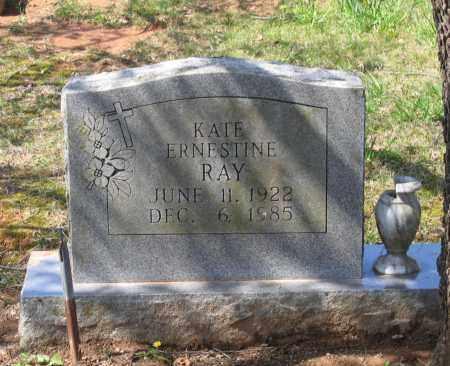 RAY, KATE ERNESTINE - Lawrence County, Arkansas   KATE ERNESTINE RAY - Arkansas Gravestone Photos