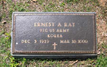RAY (VETERAN KOR), ERNEST A - Lawrence County, Arkansas | ERNEST A RAY (VETERAN KOR) - Arkansas Gravestone Photos