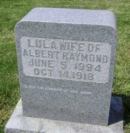 RAYMOND, LULA - Lawrence County, Arkansas | LULA RAYMOND - Arkansas Gravestone Photos