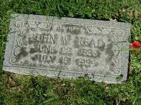 READ, JOHN W. - Lawrence County, Arkansas | JOHN W. READ - Arkansas Gravestone Photos