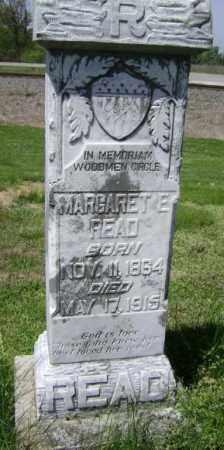 READ, MARGARET E. - Lawrence County, Arkansas | MARGARET E. READ - Arkansas Gravestone Photos