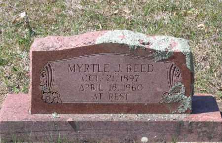 REED, MYRTLE J. - Lawrence County, Arkansas | MYRTLE J. REED - Arkansas Gravestone Photos