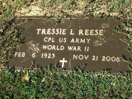 REESE (VETERAN WWII), TRESSIE LEONARD - Lawrence County, Arkansas   TRESSIE LEONARD REESE (VETERAN WWII) - Arkansas Gravestone Photos