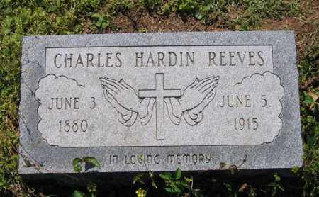 REEVES, CHARLES HARDIN - Lawrence County, Arkansas | CHARLES HARDIN REEVES - Arkansas Gravestone Photos