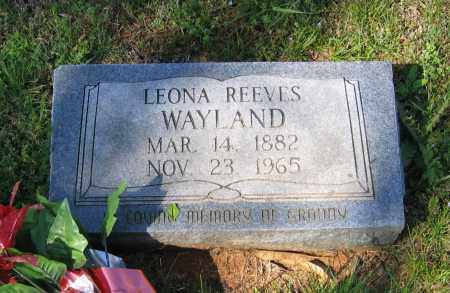 REEVES, LEONA ELIZABETH - Lawrence County, Arkansas | LEONA ELIZABETH REEVES - Arkansas Gravestone Photos