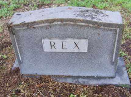 REX FAMILY STONE,  - Lawrence County, Arkansas |  REX FAMILY STONE - Arkansas Gravestone Photos