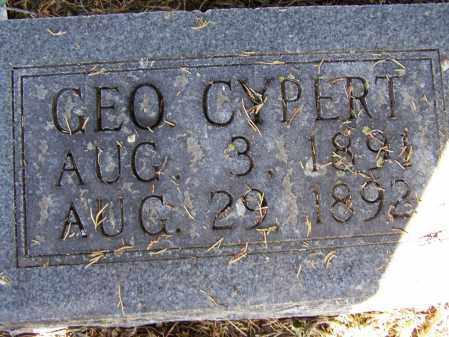 REX, GEORGE CYPERT - Lawrence County, Arkansas   GEORGE CYPERT REX - Arkansas Gravestone Photos