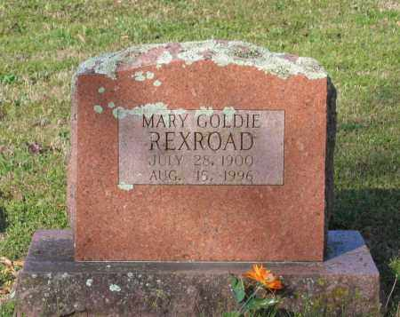 REXROAD, MARY GOLDIE - Lawrence County, Arkansas | MARY GOLDIE REXROAD - Arkansas Gravestone Photos