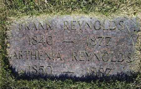 REYNOLDS, ARTHENIA - Lawrence County, Arkansas   ARTHENIA REYNOLDS - Arkansas Gravestone Photos