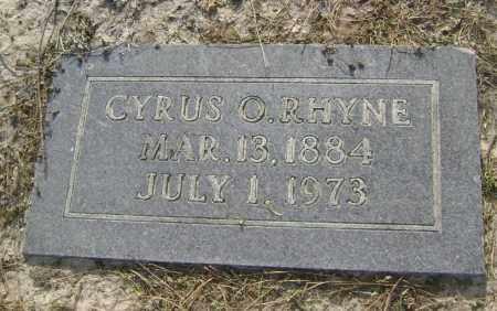 RHYNE, CYRUS O. - Lawrence County, Arkansas | CYRUS O. RHYNE - Arkansas Gravestone Photos