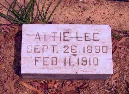 RICE, ATTIE LEE - Lawrence County, Arkansas | ATTIE LEE RICE - Arkansas Gravestone Photos