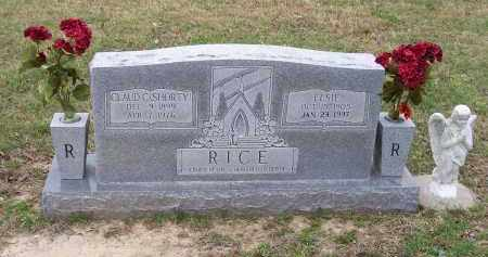 "RICE, CLAUD C. ""SHORTY"" - Lawrence County, Arkansas 