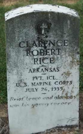 RICE (VETERAN), CLARENCE ROBERT - Lawrence County, Arkansas | CLARENCE ROBERT RICE (VETERAN) - Arkansas Gravestone Photos