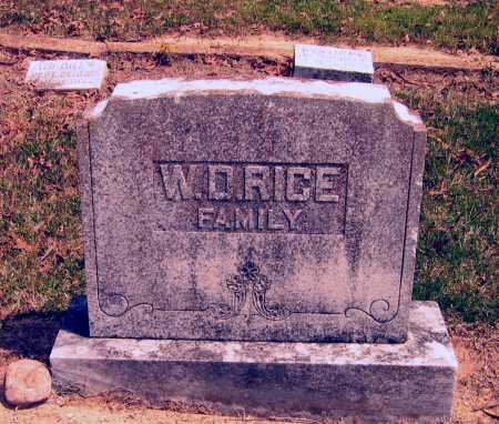 RICE FAMILY STONE,  - Lawrence County, Arkansas |  RICE FAMILY STONE - Arkansas Gravestone Photos