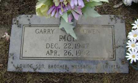 RICE, GARRY OWEN - Lawrence County, Arkansas | GARRY OWEN RICE - Arkansas Gravestone Photos