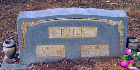 RICE, HENRY JACKSON - Lawrence County, Arkansas | HENRY JACKSON RICE - Arkansas Gravestone Photos