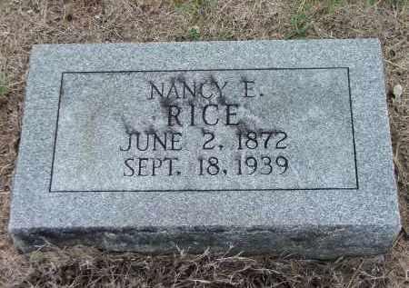 FRISBEE RICE, NANCY E. - Lawrence County, Arkansas | NANCY E. FRISBEE RICE - Arkansas Gravestone Photos