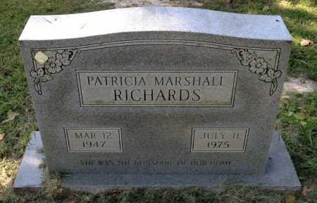 RICHARDS, PATRICIA - Lawrence County, Arkansas | PATRICIA RICHARDS - Arkansas Gravestone Photos