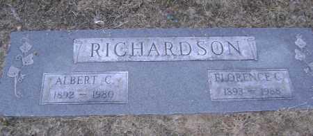 RICHARDSON, FLORENCE C. - Lawrence County, Arkansas | FLORENCE C. RICHARDSON - Arkansas Gravestone Photos