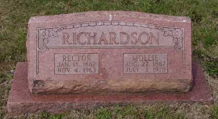 RICHARDSON, MOLLIE - Lawrence County, Arkansas | MOLLIE RICHARDSON - Arkansas Gravestone Photos