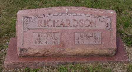 RICHARDSON, MOLLIE - Lawrence County, Arkansas | MOLLIE RICHARDSON - Arkansas Gravestone Photos