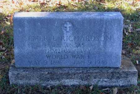 RICHARDSON (VETERAN WWI), ELMER L. ROY - Lawrence County, Arkansas | ELMER L. ROY RICHARDSON (VETERAN WWI) - Arkansas Gravestone Photos