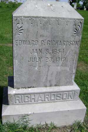 RICHARDSON, EDWARD P. - Lawrence County, Arkansas | EDWARD P. RICHARDSON - Arkansas Gravestone Photos