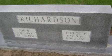 RICHARDSON, EUNICE M. - Lawrence County, Arkansas | EUNICE M. RICHARDSON - Arkansas Gravestone Photos