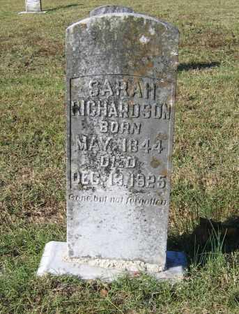 DAVIS RICHARDSON, SARAH C. - Lawrence County, Arkansas   SARAH C. DAVIS RICHARDSON - Arkansas Gravestone Photos