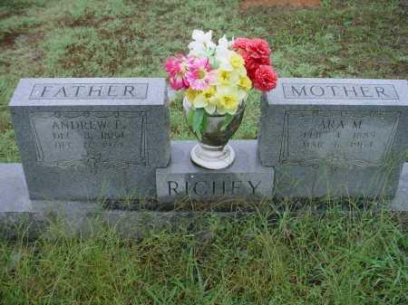 CASPER RICHEY, ARA MAHALIA - Lawrence County, Arkansas | ARA MAHALIA CASPER RICHEY - Arkansas Gravestone Photos