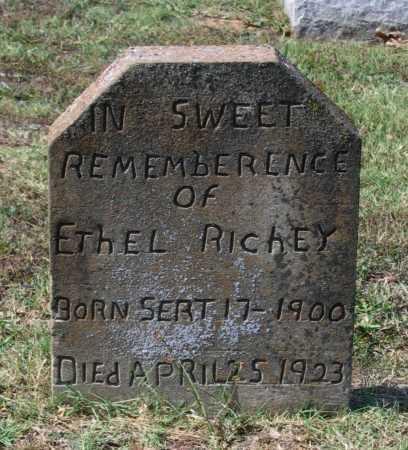 HURST RICHEY, ETHEL - Lawrence County, Arkansas | ETHEL HURST RICHEY - Arkansas Gravestone Photos