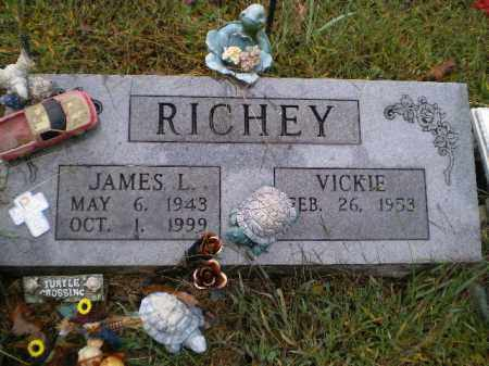 RICHEY, JAMES LOWELL - Lawrence County, Arkansas   JAMES LOWELL RICHEY - Arkansas Gravestone Photos