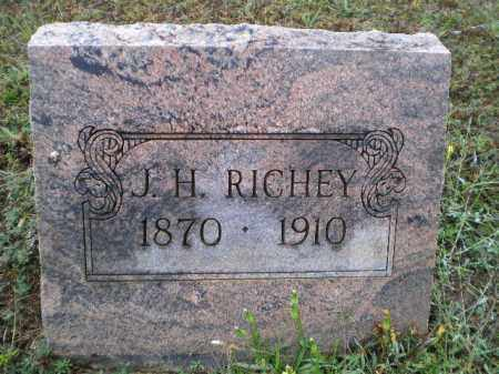 RICHEY, JOHN HARRISON WAYLAND - Lawrence County, Arkansas | JOHN HARRISON WAYLAND RICHEY - Arkansas Gravestone Photos