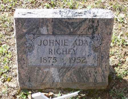 RAINWATER RICHEY, JOHNIE ADA - Lawrence County, Arkansas | JOHNIE ADA RAINWATER RICHEY - Arkansas Gravestone Photos
