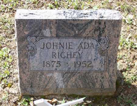 RICHEY, JOHNIE ADA - Lawrence County, Arkansas | JOHNIE ADA RICHEY - Arkansas Gravestone Photos