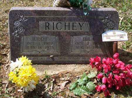 RICHEY, JUDDIE RAINWATER - Lawrence County, Arkansas   JUDDIE RAINWATER RICHEY - Arkansas Gravestone Photos
