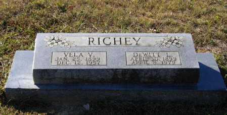 RICHEY, VELA VIOLA - Lawrence County, Arkansas   VELA VIOLA RICHEY - Arkansas Gravestone Photos