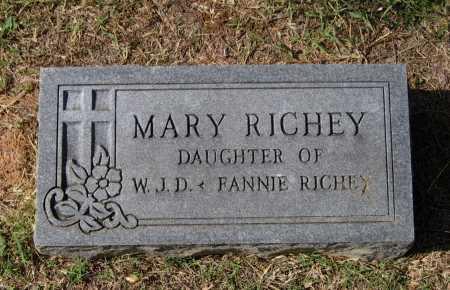 RICHEY, MARY E. - Lawrence County, Arkansas | MARY E. RICHEY - Arkansas Gravestone Photos