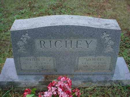 RICHEY, MORRIS - Lawrence County, Arkansas | MORRIS RICHEY - Arkansas Gravestone Photos