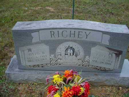 RICHEY, OTTO BEVILY - Lawrence County, Arkansas | OTTO BEVILY RICHEY - Arkansas Gravestone Photos