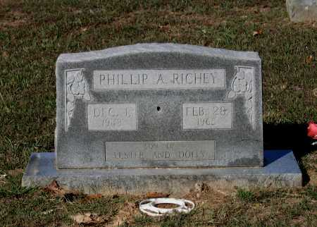 RICHEY, PHILLIP ALMA - Lawrence County, Arkansas | PHILLIP ALMA RICHEY - Arkansas Gravestone Photos