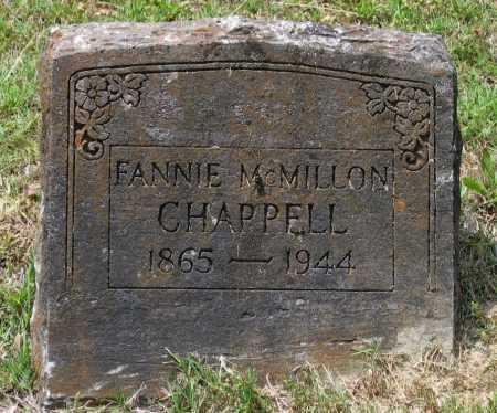 "CHAPPELL, SARAH FRANCES MCMILLON RICHEY ""FANNIE"" - Lawrence County, Arkansas | SARAH FRANCES MCMILLON RICHEY ""FANNIE"" CHAPPELL - Arkansas Gravestone Photos"