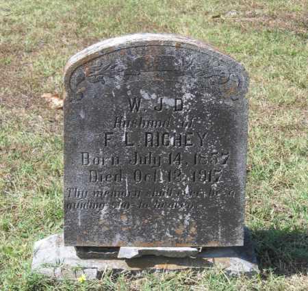 RICHEY, WILLIAM JACKSON DAVID - Lawrence County, Arkansas | WILLIAM JACKSON DAVID RICHEY - Arkansas Gravestone Photos