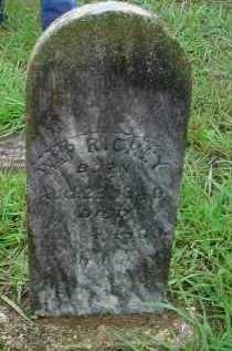 RICHEY, WILLIAM PARK - Lawrence County, Arkansas | WILLIAM PARK RICHEY - Arkansas Gravestone Photos