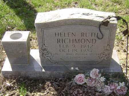 RICHEY RICHMOND, HELEN RUTH - Lawrence County, Arkansas | HELEN RUTH RICHEY RICHMOND - Arkansas Gravestone Photos